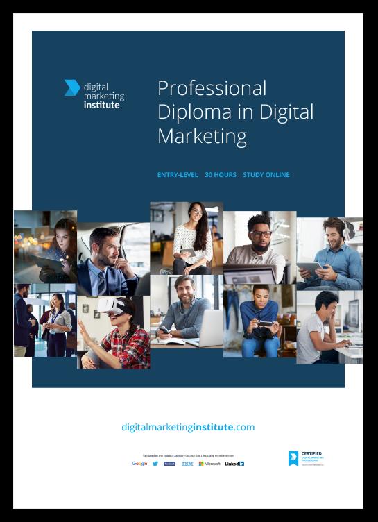 Professional Diploma in Digital Marketing - Digital ...
