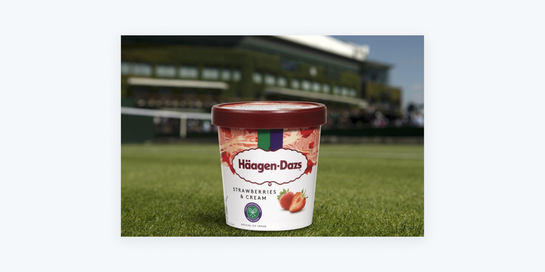 3. Häagen-Dazs - collaborative 'doubles' marketing