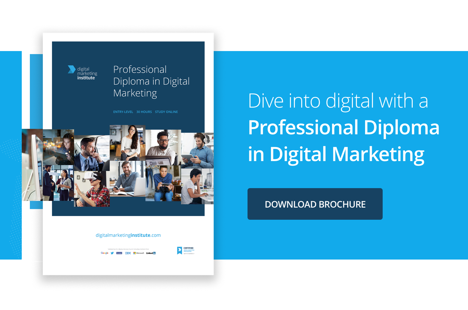 Dive into digital with a Professional Diploma in Digital Marketing