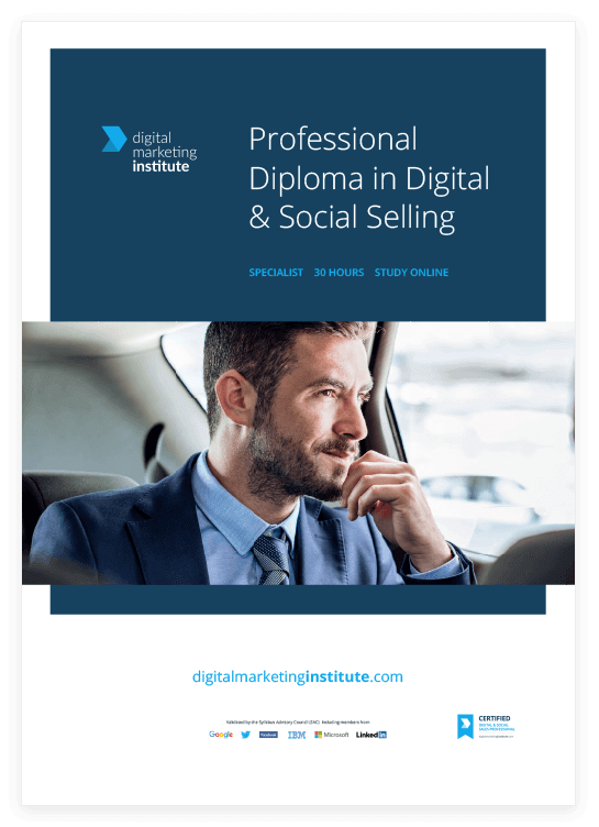 Digital & Social Selling Course | Digital Marketing Institute