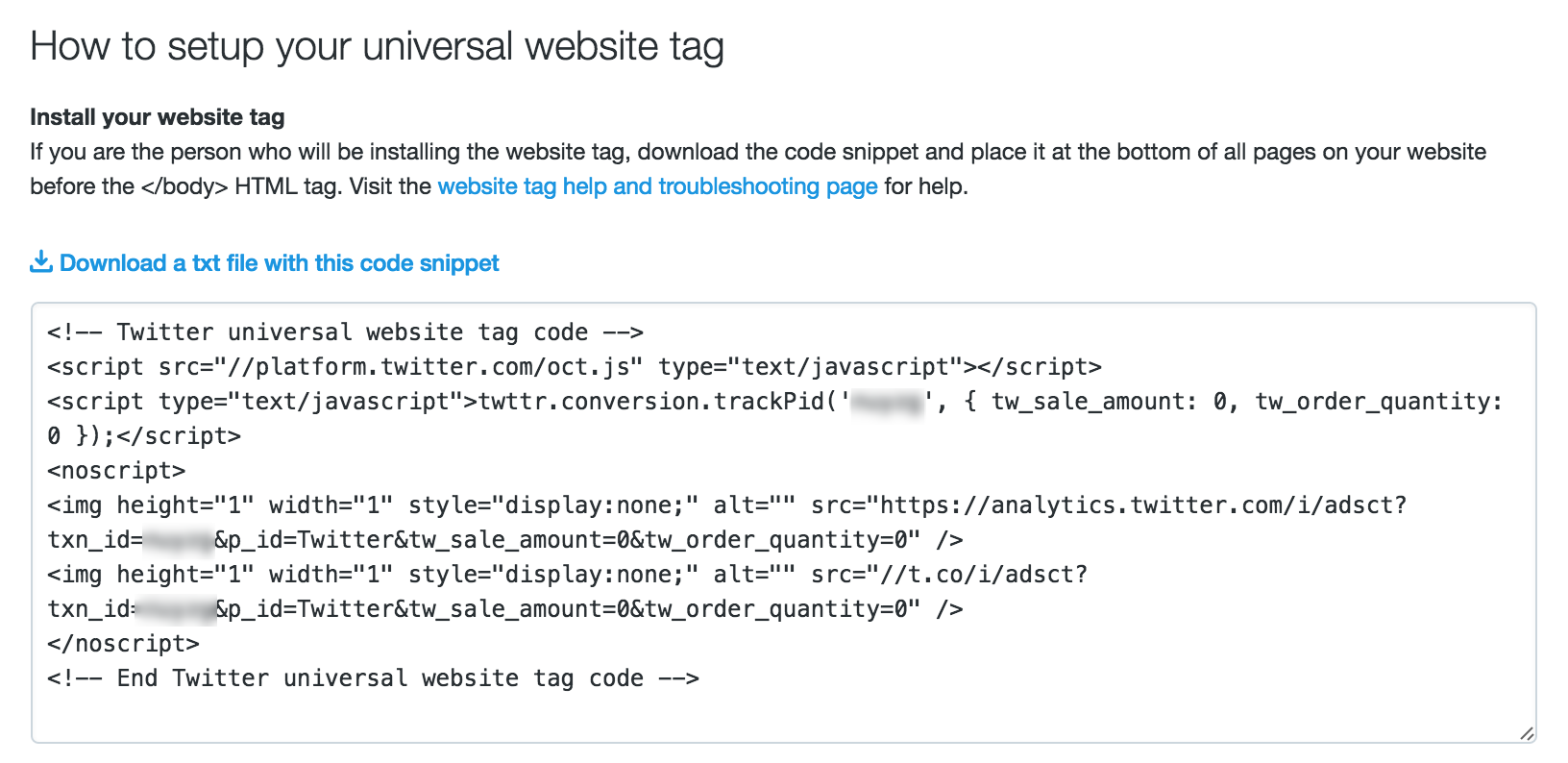 Twitter Tracking Code | The Ultimate Guide to Twitter Ads for Startups and Small Businesses