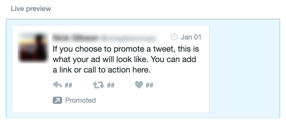 Twitter Ad Preview | The Ultimate Guide to Twitter Ads for Startups and Small Businesses