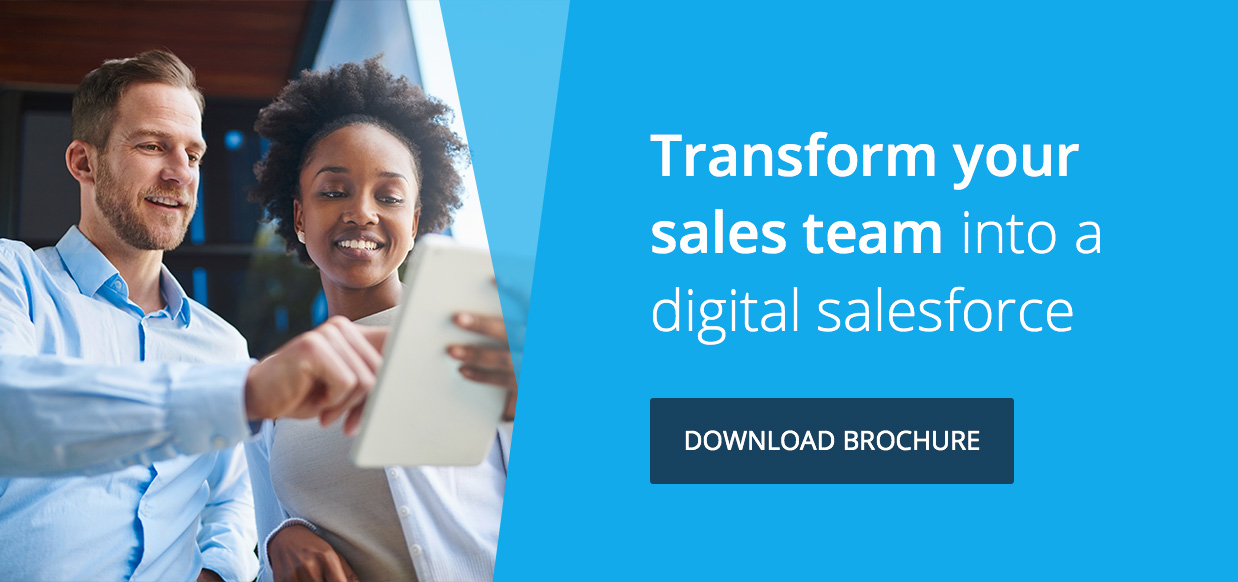 Transform your sales team into a digital salesforce | Download corporate brochure