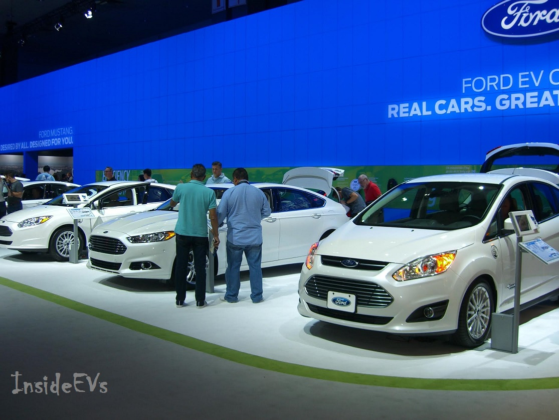 Ford fleet of electric cars