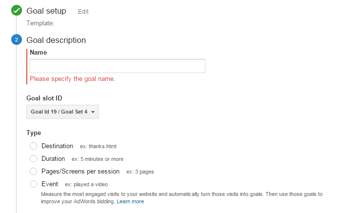 Set Up a Goal in Google Analytics | Google Analytics Goals Guide: How to Set Up And Track Your Bottom-Line KPI's