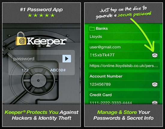 Keeper is a secure password management app and digital vault that can provide you with a consistently safe working environment and help you to maintain your productivity.