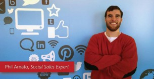 Phil Amato, Marketing and Communications Manager at Microsoft leading social selling program