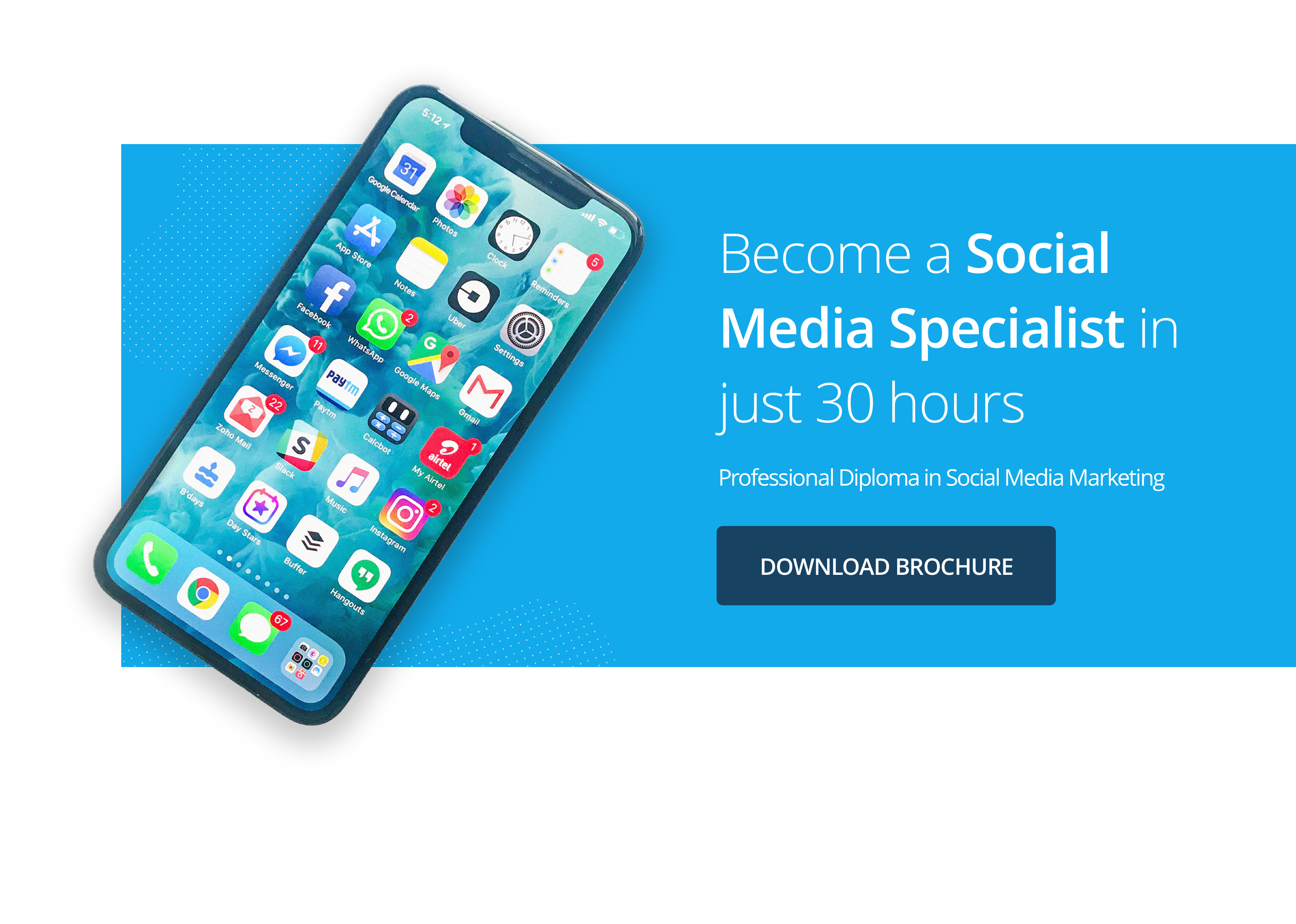 Become a Social Media Specialist in just 30 hours
