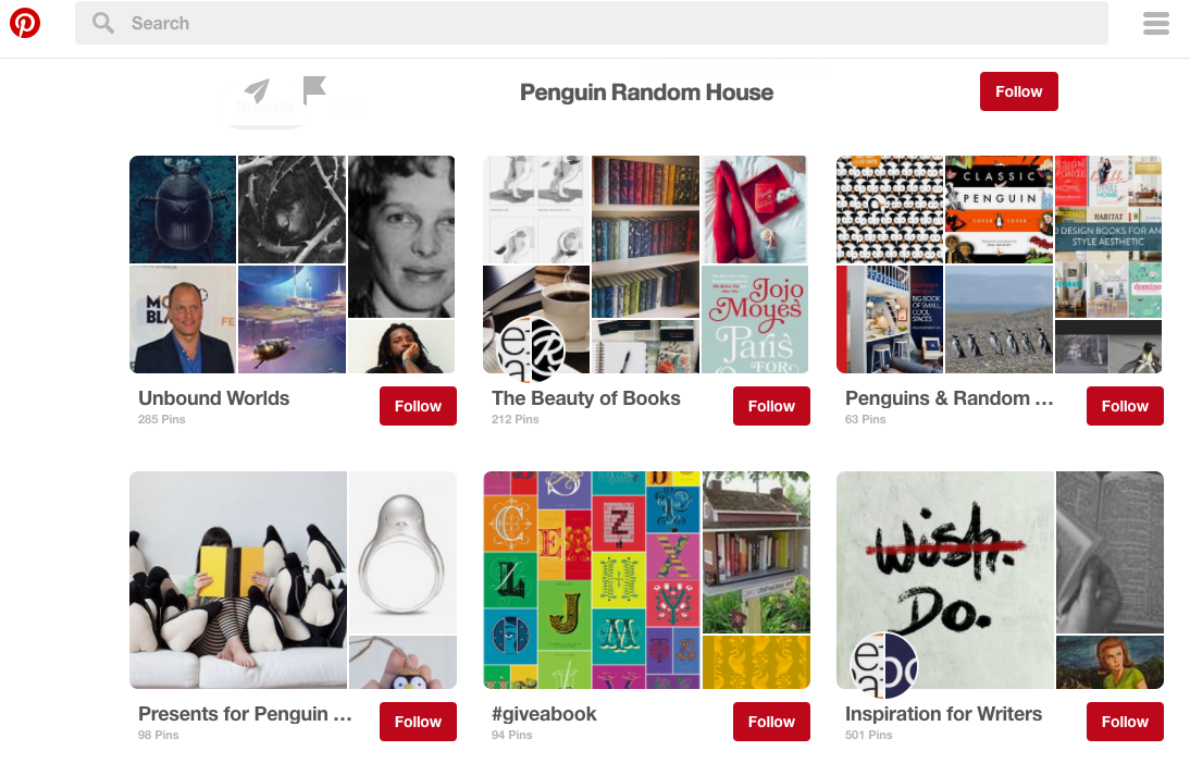Publishing company Penguin Random House is a brand that excels at using content to engage and inspire its target audience and create a unique brand identity.
