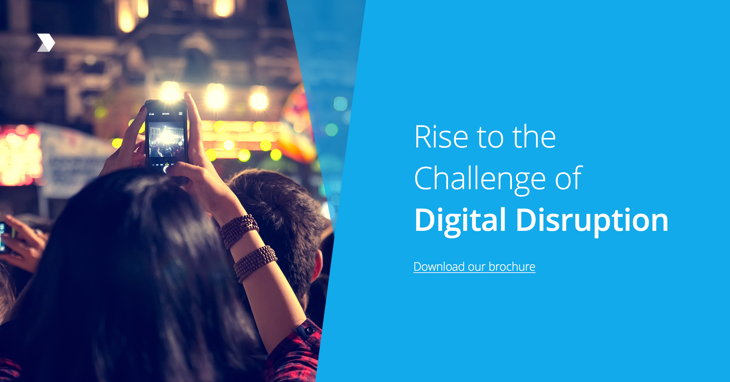 Download Brochure | Rise to the Challenge of Digital Disruption