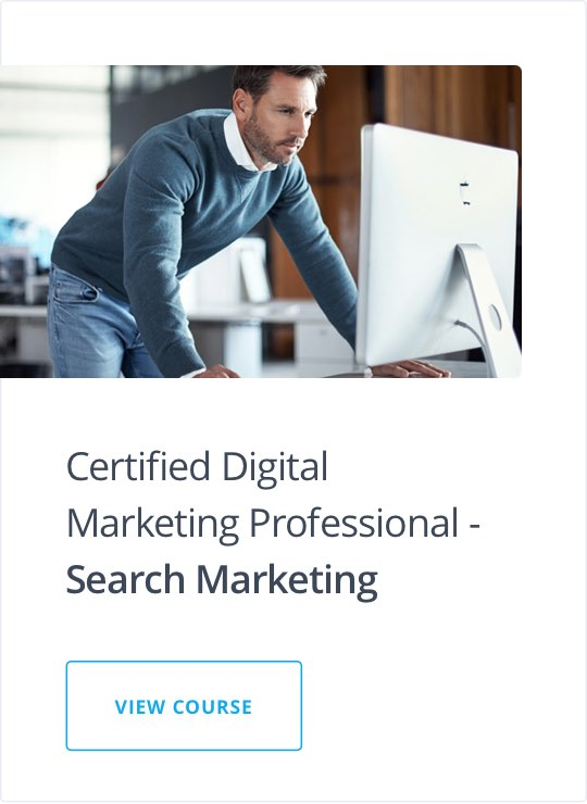 Specialist Diploma in Search Marketing