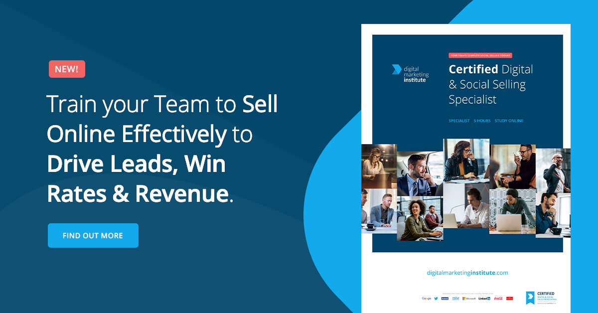 Upskill your sales team in social selling | Download Brochure