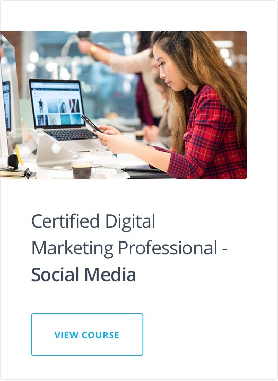 Social Media Marketing Course   Online Training Certification