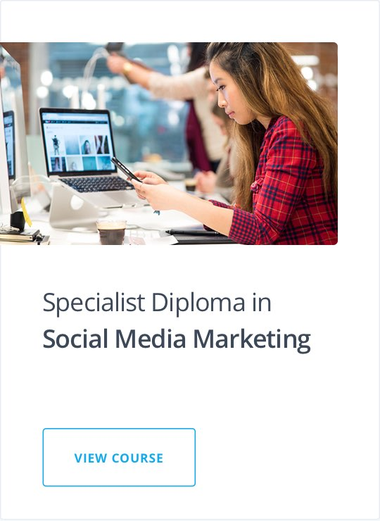 Specialist Diploma in Social Media Marketing