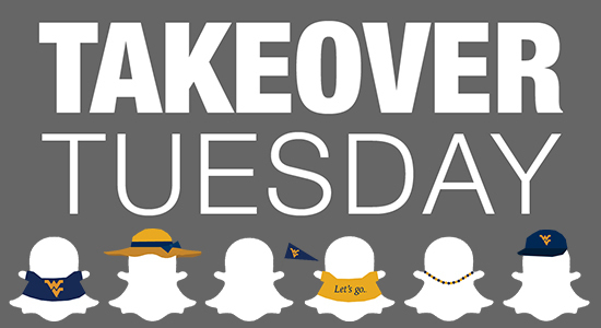Takeover Tuesday West Virginia Snapchat image