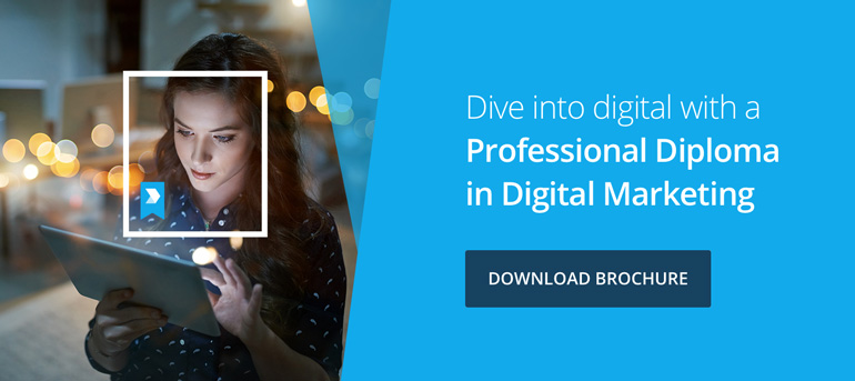 Download Brochure | Find out if a digital marketing career is for you!