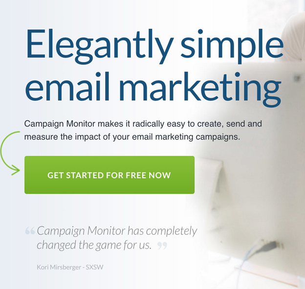 Campaign Monitor - 5 Key Components of Landing Pages that Convert | Digital Marketing Insitute