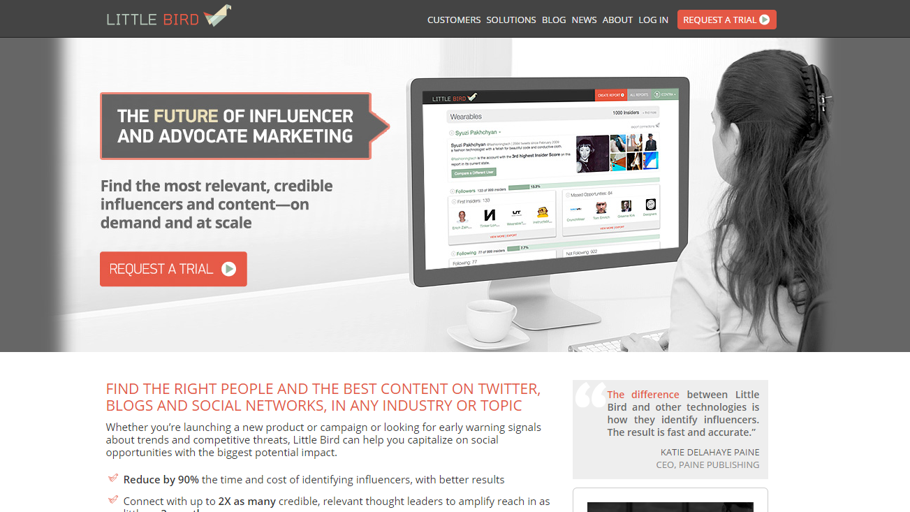 Little Bird | Influencer Cheat Sheet: How to Connect, Engage & Get What You Want
