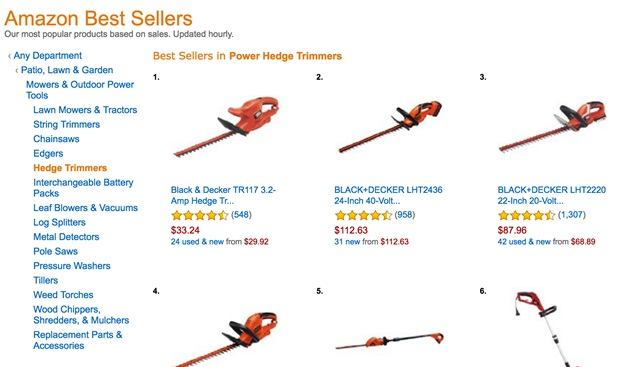 Amazon Best Sellers | 6 Simple but effective SEO E-Commerce Strategies