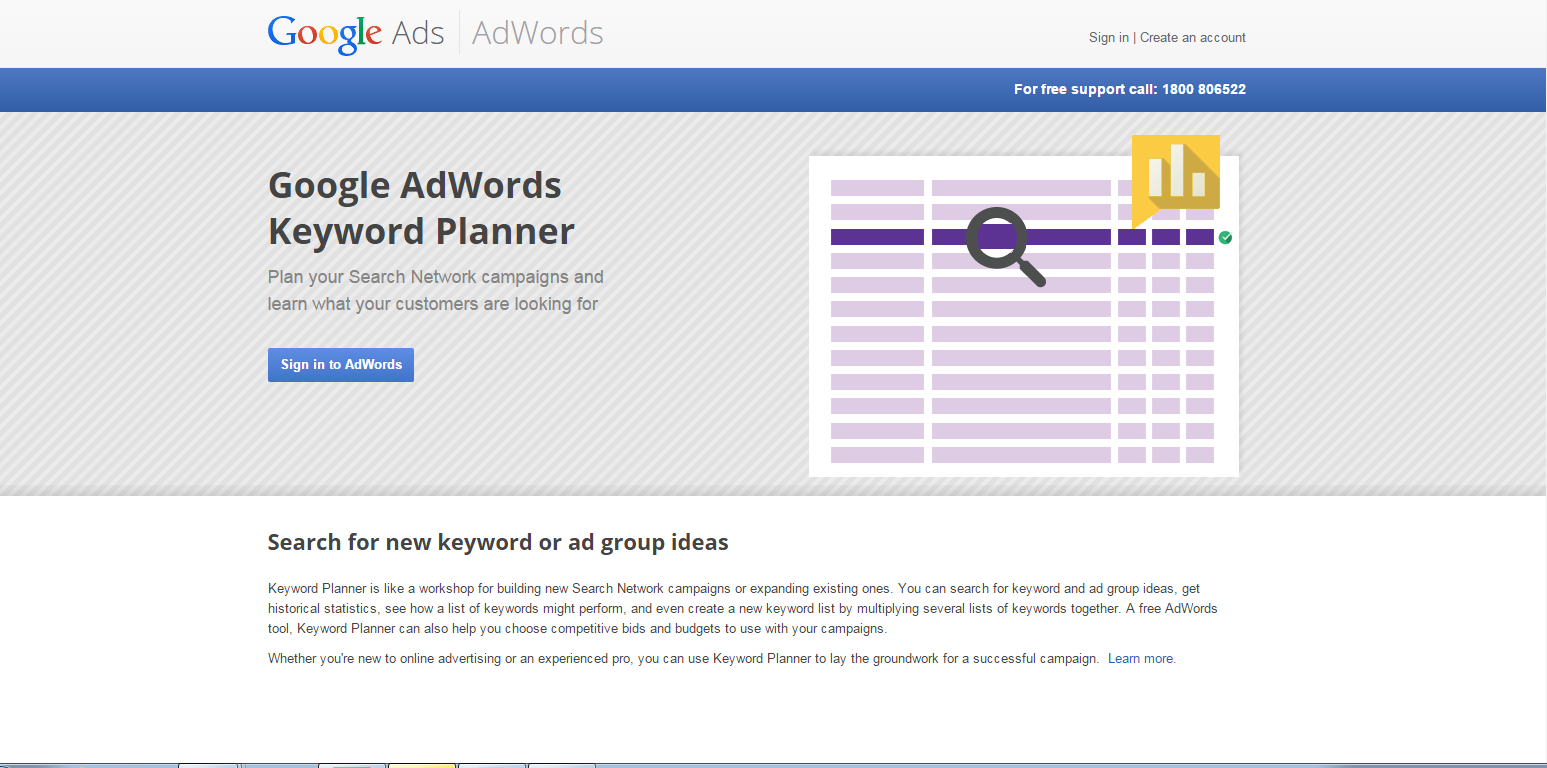 Ultimate SEO Guide - Google AdWords Keyword Planner Tool