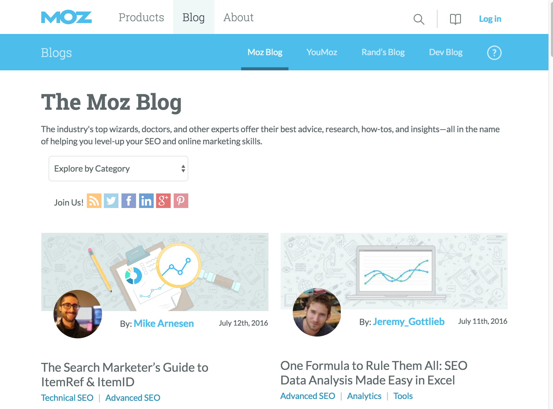 Moz Blog | Digital Marketing Institute Blog