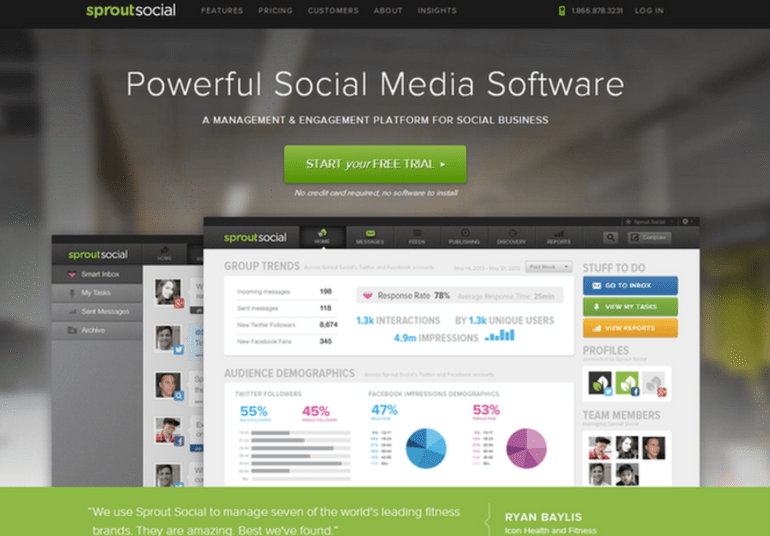 Sprout Social.