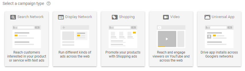 The Search with Display Select campaign has been removed from the new AdWords Interface.