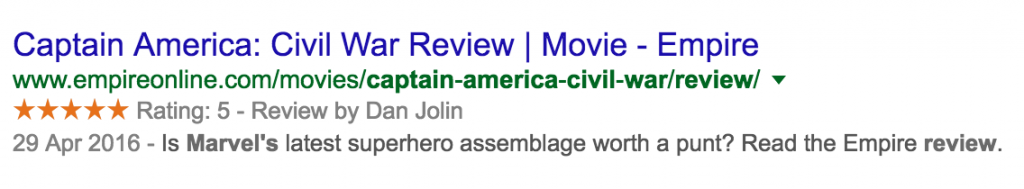 An example of a good meta description.