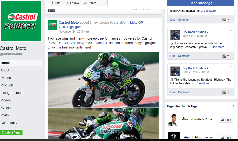 Castrol Facebook Advertising Success Story.