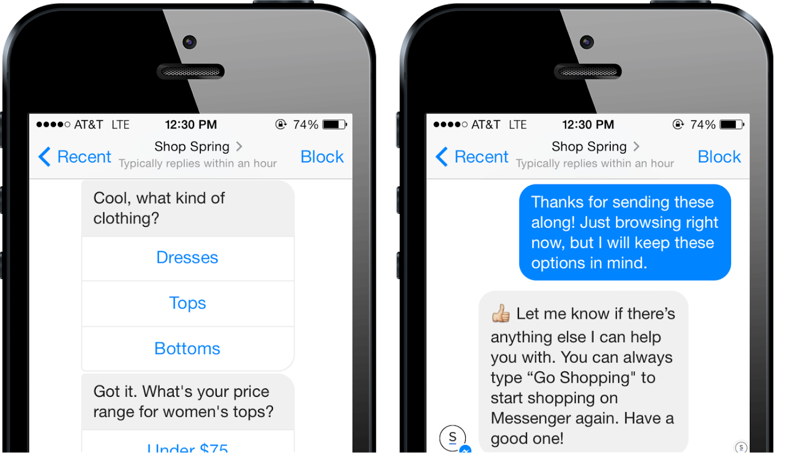 Chatbots writing copy.Image Source: Business2Community.