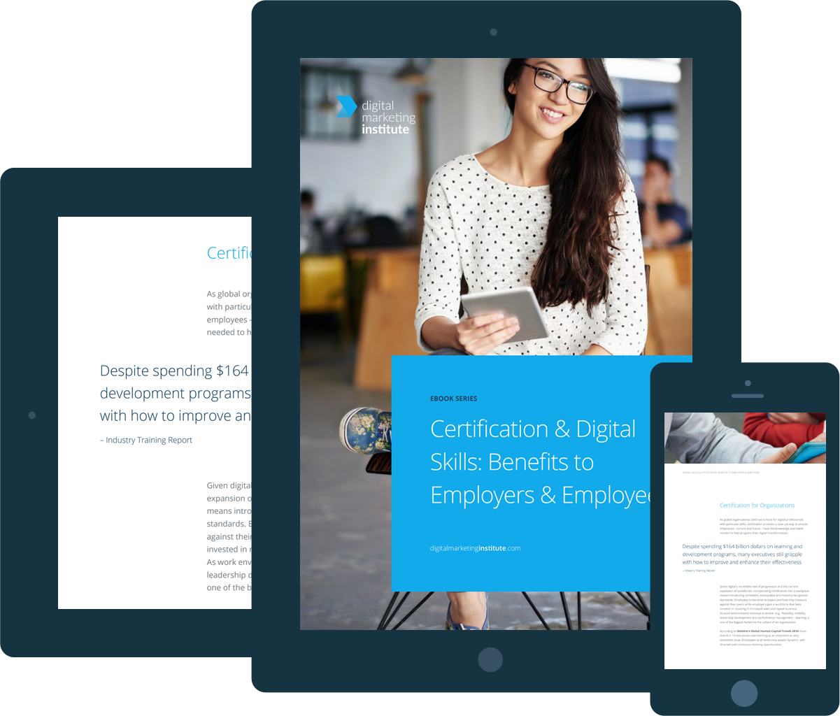 Ebook - Certification & Digital Skills: Benefits to Employers & Employees
