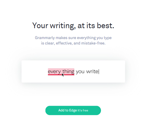 Grammarly is an all-in-one spellcheck and grammar tool that works all of the places Microsoft Word can't.