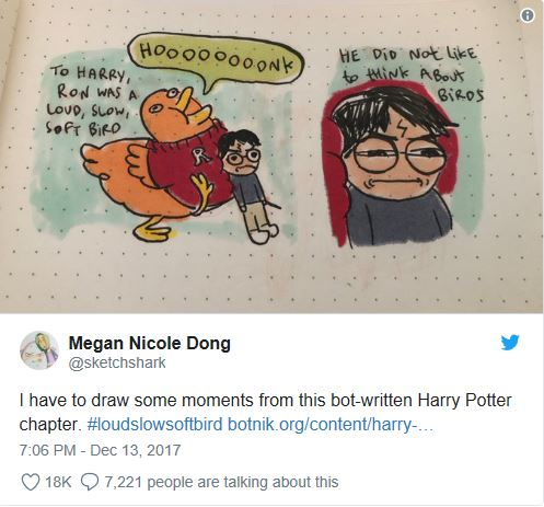 Harry Potter and Chatbots.
