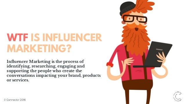 WTF influencer marketing.