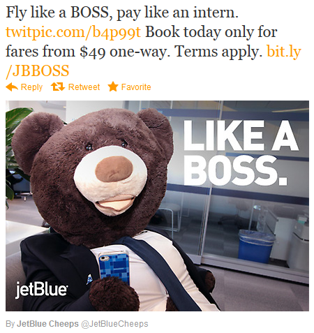 JetBlue's primary buyer persona is the low budget traveller that seeks a comfortable yet affordable solution to flying.