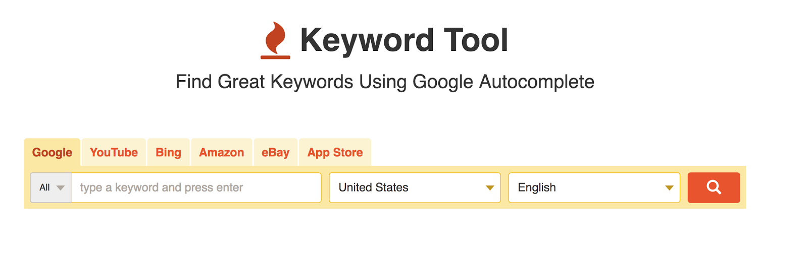 Use a keyword tool for SEO optimized copy.