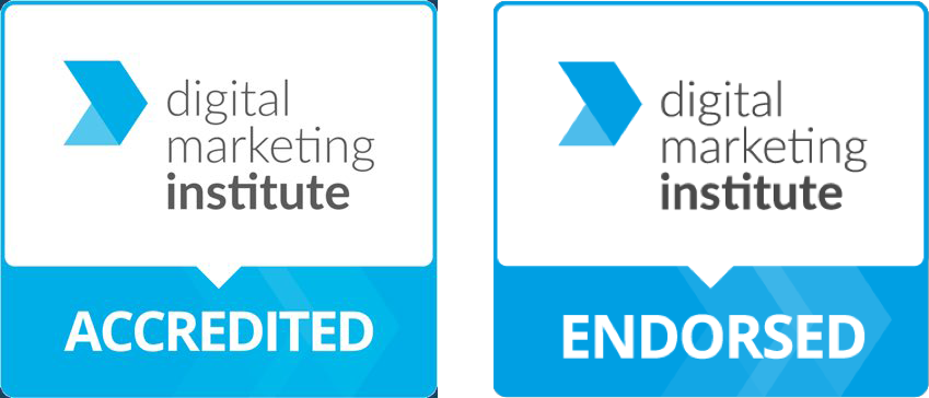Digital Marketing Institute Accredited and Endorsed Logos