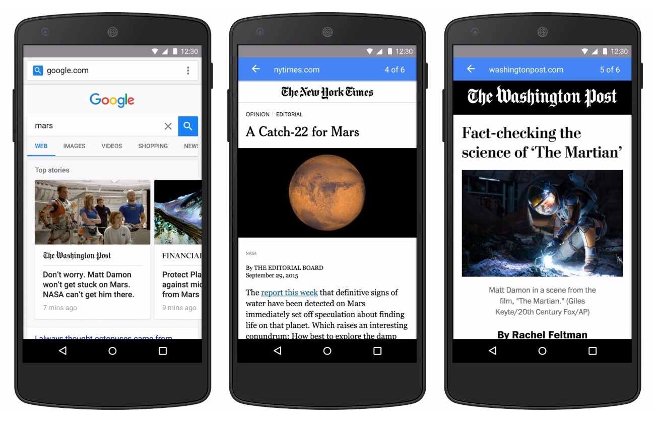 AMP pages may help you get ahead of the mobile marketing curve.