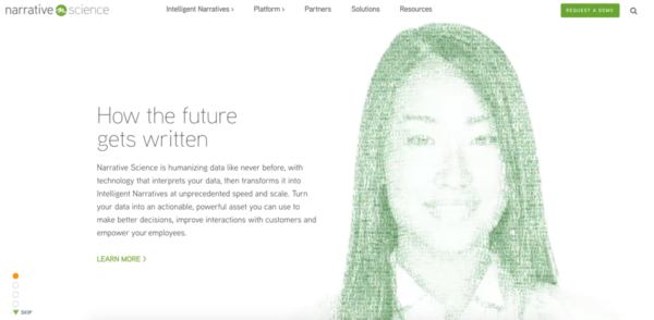Narrative science.