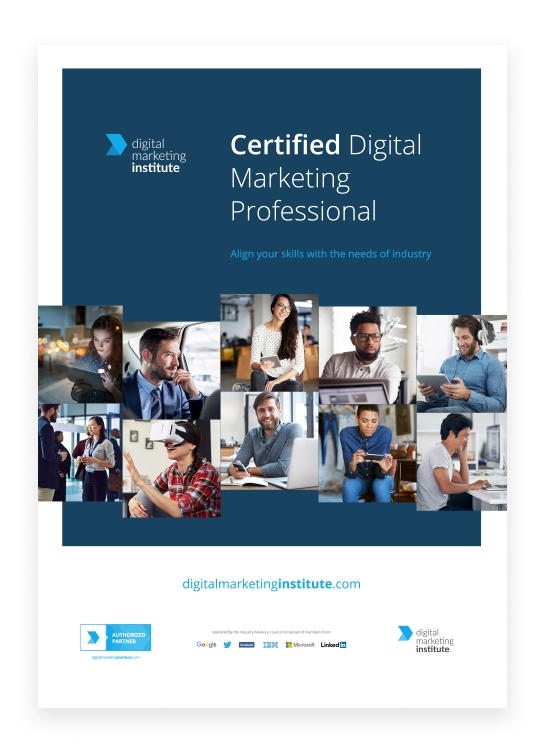 Digital Marketing Professional Certification