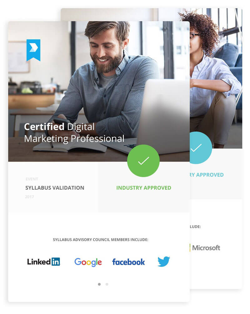 Become a certified digital marketing leader