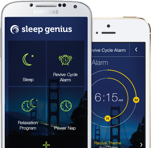 Sleep Genius is an app that will help you to sleep longer and better
