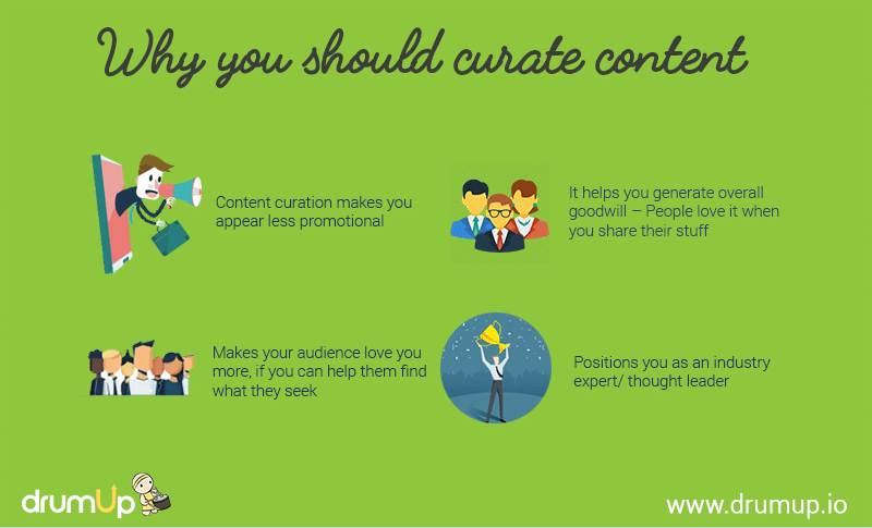 Why you should create content. Source: DrumUp